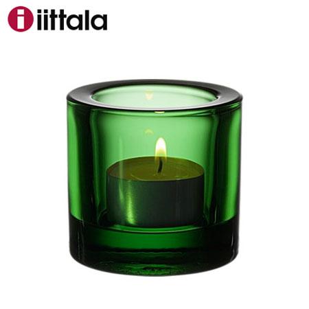 【在庫処分SALE!】Iittala イッタラ Kivi キビ グリーン 60mm キャンドルホルダー / 今なら日本製キャンドルを2個プレゼント! キヴィ 北欧 ギフトカラー