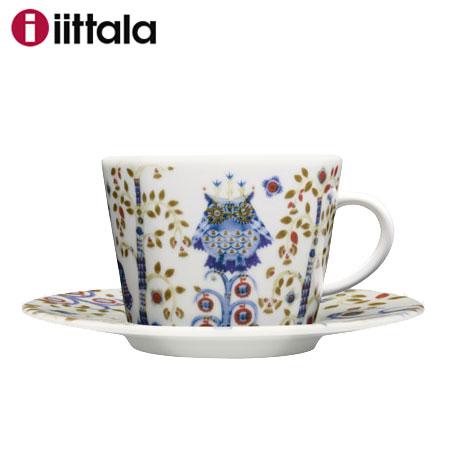 【オータムセール】Iittala イッタラ Taika タイカ コーヒーカップ&ソーサー200ml ホワイト / 北欧 食器