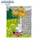 \★アフターセール★/Arabia アラビア ムーミンデコツリー ムーミンママ 151×189mm / Moomin Deco Tree Moominmamma...
