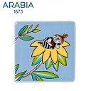 \★サマーセール★/Arabia アラビア ムーミンデコツリー リトルミィ 89×89mm / Moomin Deco Tree Little My 壁掛け用プ...