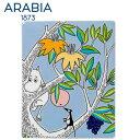 \★サマーセール★/Arabia アラビア ムーミンデコツリー ムーミン 151×189mm / Moomin Deco Tree Moomintroll 壁掛...