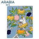 \★サマーセール★/Arabia アラビア ムーミンデコツリー フローレン 151×189mm / Moomin Deco Tree Snorkmaiden 壁...