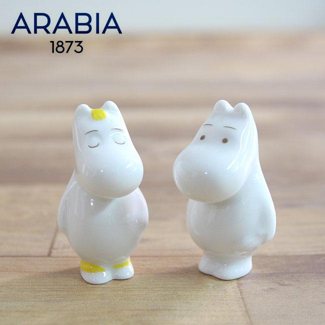 【送料無料・限定セット】【あす楽対応】ARABIA アラビア ムーミンミニフィギュア 2体セット(ムーミン・スノークのおじょうさん) / フローレン 限定 人形 置物 オブジェ 磁器 北欧 ギフト Moomin minifigurine Snorkmaiden