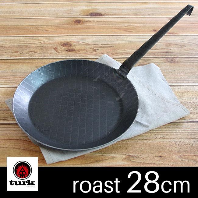 【あす楽対応】turk ターク フライパン ロースト用 28cm 65228 / 鉄フライパン 鉄製 ドイツ