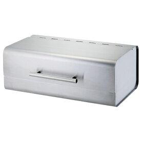 SALUS セーラス ブレッドケース スクエア シルバー / パン入れ 保存容器 佐藤金属興業[SL]