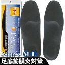 【ゆうパケットなら送料無料】インソールプロ 足底筋膜炎対策 メンズ 選べる2サイズ / 男性用 インソール 中敷 かかと[MT0]