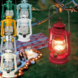 【あす楽対応】ウォームウール LEDフェーリアランタン 選べる7色 / LEDランタン WARM HEURE LEDライト アウトドアキャンプ 非常用 緊急時の備え アンティーク オイルランプ風 防災 単三