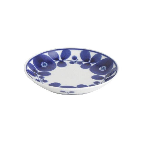 白山陶器 ブルーム プレートSS 11cm リース / 小皿 波佐見焼