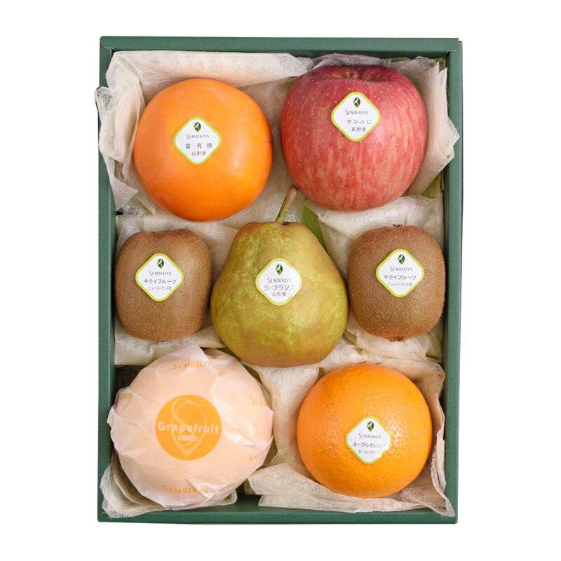 千疋屋総本店(せんびきや)季節の果物詰合(1) 化粧箱入