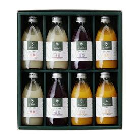 千疋屋総本店(せんびきや)ストレートジュース(果汁100%)詰合 8本入
