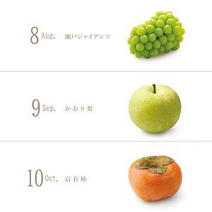 日本橋 千疋屋総本店 公式 四季の収穫祭【6ケ月コース】(2021年8月〜2022年1月)