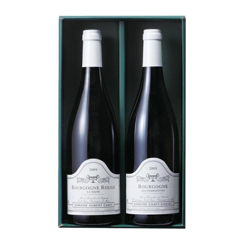 千疋屋総本店(せんびきや)フランス ブルゴーニュ 紅白ワイン詰合