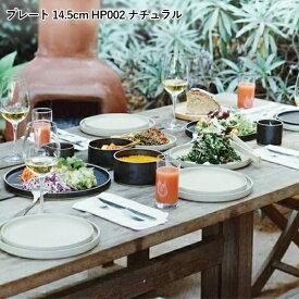 プレート 14.5cm 皿 お皿 食器 平皿 おしゃれ ワンプレート ディナープレート メインプレート ディナー皿 カフェ食器 カフェ風 シンプル 日本製 ディナー キッチン 食器 北欧 結婚祝い HP002 HASAMI PORCELAIN ハサミポーセリン
