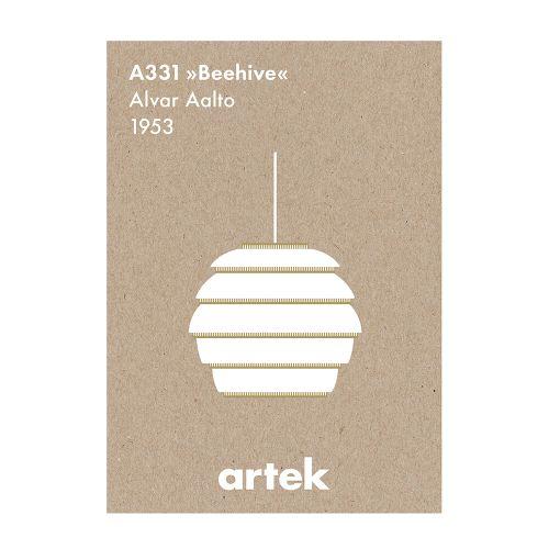 アイコン ポスター Beehive (Artek / アルテック)