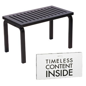 チェア ベンチ153B ラッカーブラック (artek アルテック / Carry Away) イス 椅子 いす ガーデンベンチ ダイニングベンチ スツール ダイニングチェア おしゃれ シンプル インテリア 家具 テーブル