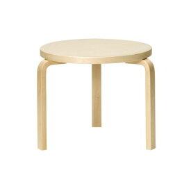 テーブル90D / バーチ φ48×H44cm (Artek / アルテック) 【送料無料】