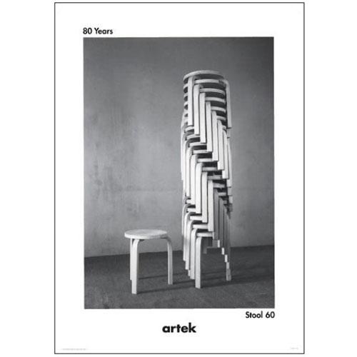 ポスター スタッキングスツール60 (Artek / アルテック)