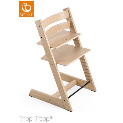 トリップ トラップ オーク / ホワイト (Tripp Trapp・Stokke / ストッケ) 【送料無料】【smtb-F】