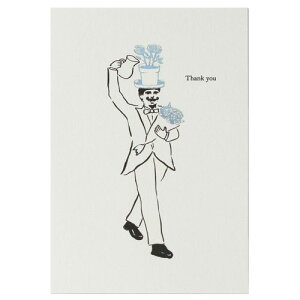 ポストカード Thank you カード / バラ (D-BROS / ディーブロス) おしゃれ 北欧 かわいい はがき ハガキ 手紙 メッセージカード アート 絵はがき 絵葉書 プレゼント ギフト 贈りもの 誕生日 イベン