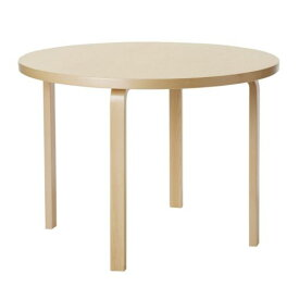 テーブル90A / バーチ φ100×H72cm (Artek / アルテック)