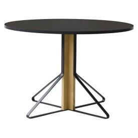 カアリテーブル REB004 / ブラック φ110×H74cm (Artek / アルテック) 【代引不可商品】