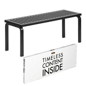 チェア ベンチ153A ラッカーブラック (artek アルテック / Carry Away) イス 椅子 いす ガーデンベンチ ダイニングベンチ スツール ダイニングチェア おしゃれ シンプル インテリア 家具 テーブル