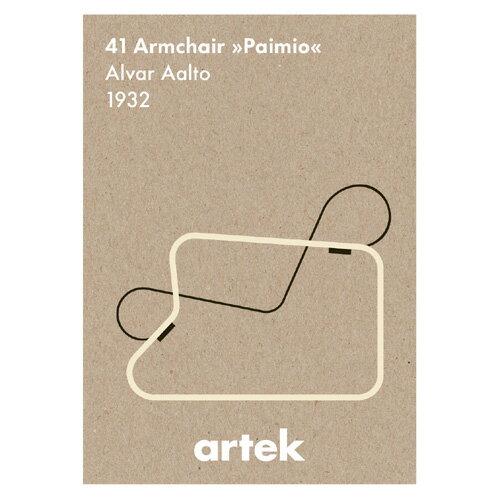 アイコン ポスター Paimio (Artek / アルテック)