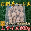 小パック生食用◆天然無添加ボイルツブ◆貝Lサイズ(300g)【05P03Dec16】
