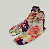 ◆21〜26cm対応◆『選べる20種類!日本製ソックス足袋』縦にも横にも伸びる♪すっぽり履けてお洒落◎/たび/大正浪漫/レトロ/小紋/和柄/刺繍/ワンポイント/和装小物/着付け小物/ニコアンティーク05-14-13-124
