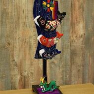 お部屋で飾れるのが嬉しい、こいのぼり。縮緬工芸品をもっと身近に。子供の成長を願う贈り物として。【京都のつるし飾りちりめん鯉の滝のぼり(小)】つるし掛け,五月人形,兜,兜飾り,鯉のぼり,こいのぼり,室内用,五月人形