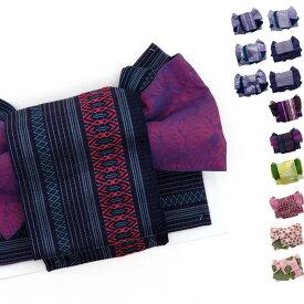 42c2cde6efafd3 浴衣帯 作り帯 大人 レディース 簡単 帯単品 結び帯 12種類 付け帯 つくり