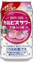 【リニューアル発売 順次切替】カルピスサワー 手摘み白桃 350mlx6本