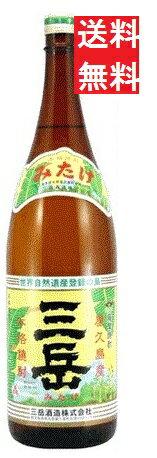 【送料無料】三岳 芋焼酎 25゜(屋久島産)1800ml