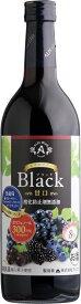 アルプス あずさワイン 無添加 ブラック 甘口 赤 720ml