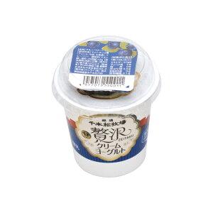 那須 千本松牧場贅沢クリームヨーグルトブルーベリーソース付(冷蔵)