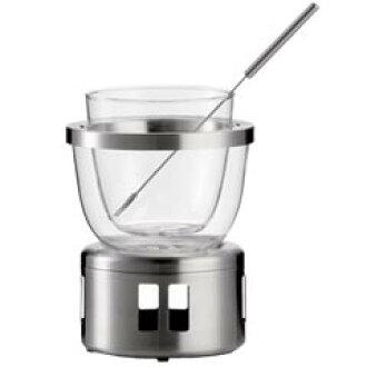 JENAER GLAS (Jena glass) chocolate fondue set 30122
