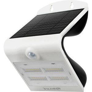ソーラー充電式 センサーウォールライト 3.2W センサーライト 点灯 太陽光 充電 ソーラーパネル 人感 防犯 災害 停電 照明 家庭 ホワイト OL-303W