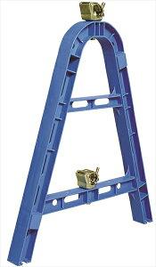 単管バリケード カラーサインスタンド ブルー 【4台セット】 規制材 仙台銘板