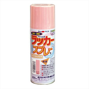 【12本セット】アトム ラッカースプレーE 300ML ピンク