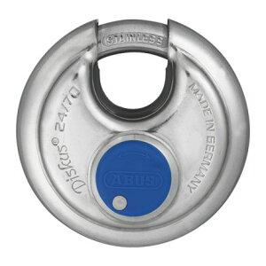 【6個セット】ABUS南京錠 ディスカス24IB/60ピンシリンダー(キー3本付) 仙台銘板