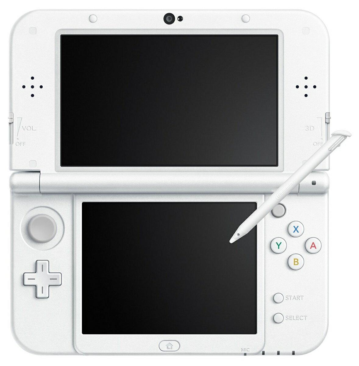 【新品】 New 3DSLL本体 パールホワイト