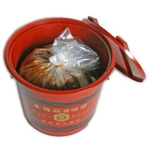 谷風味噌4Kg赤樽(漉味噌)