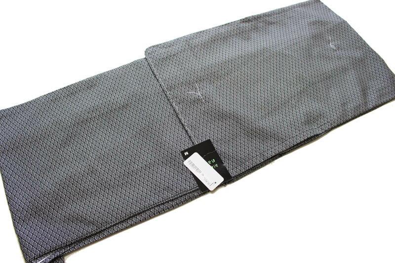 ヒロミチナカノ/お仕立て上がり絽の着物-No.105(hiromichi nakanoブランド)【地色:黒色/夏の着物/着用時期6月下旬から9月上旬頃まで対応】