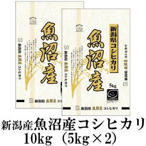 お米 10kg(5kg×2) 新潟県魚沼産コシヒカリ 令和元年産
