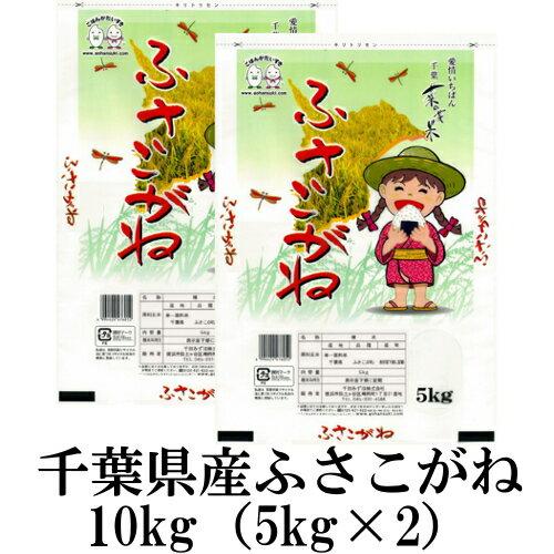 お米 10kg(5kg×2) 千葉県産ふさこがね 平成30年産