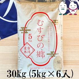お米 30kg(5kg×6) 台湾産むすびの郷