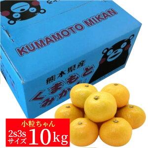 《ご家庭用》熊本産 プチみかん10kg(2S・3Sサイズ)【送料無料】【ミカン】【小粒】