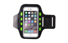 スポーツ アームバンド ランニング ケース LEDランプ Xperia/ iPhone 6 6s 7 8 Plus x など5.5インチまで対応