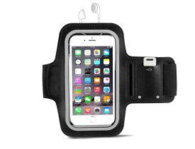 スポーツ アームバンド ランニング ケース 防滴/防水/調節可能 Xperia/ iPhone 6 6s 7 Plus 8 x など 5.5インチまで