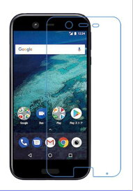 Android One X1 フィルム アンドロイド ワイモバイル 保護フィルム クリア シートfilm 液晶 光沢タイプ pet
